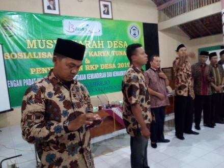 MUSDES RKP Des dan Sosialisasi Padat Karya Tunai