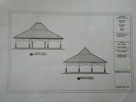 Persiapan Pembangunan Pendopo Desa