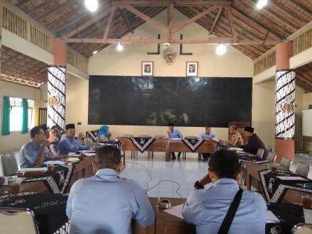 Pertemuan Pembahasan Realisasi APBDesa Tahun Anggaran 2019 di Desa Wijirejo