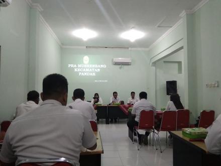 Pra Musrenbang Kecamatan untuk PIK 2021