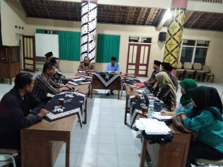 Pembentukan Panitia Pengisian Lowongan Pamong Desa Wijirejo Dukuh Bergan